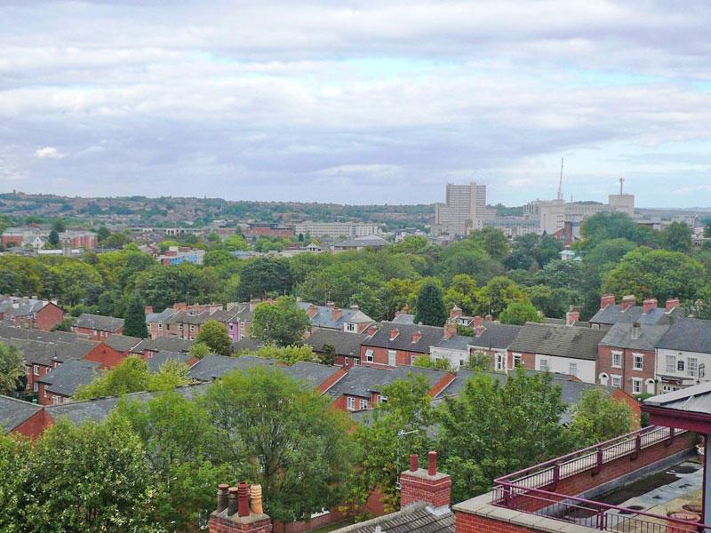 Panoramic Terrace Views